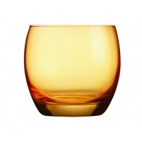 Arcoroc ARC J8479 Salto Color Studio Orange Whiskyglas, 320 ml, Glas, orange, 6 Stück