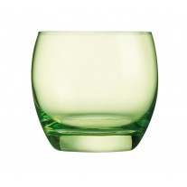 Arcoroc ARC J8485 Salto Color Studio Green Whiskyglas, 320 ml, Glas, grün, 6 Stück