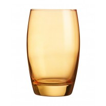 Arcoroc ARC J8488 Salto Color Studio Orange Longdrinkglas, 350 ml, Glas, orange, 6 Stück