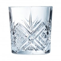 Arcoroc ARC L7254 Broadway Whiskyglas, 300 ml, Glas, transparent, 6 Stück