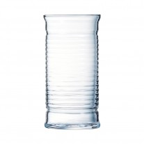 Arcoroc ARC L8688 Be Bop Longdrinkglas, 350 ml, Glas, transparent, 6 Stück