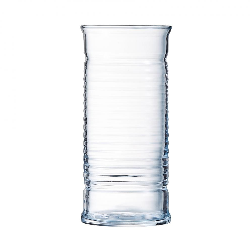Arcoroc ARC L7124 Be Bop Longdrinkglas, 470 ml, Glas, transparent, 6 Stück