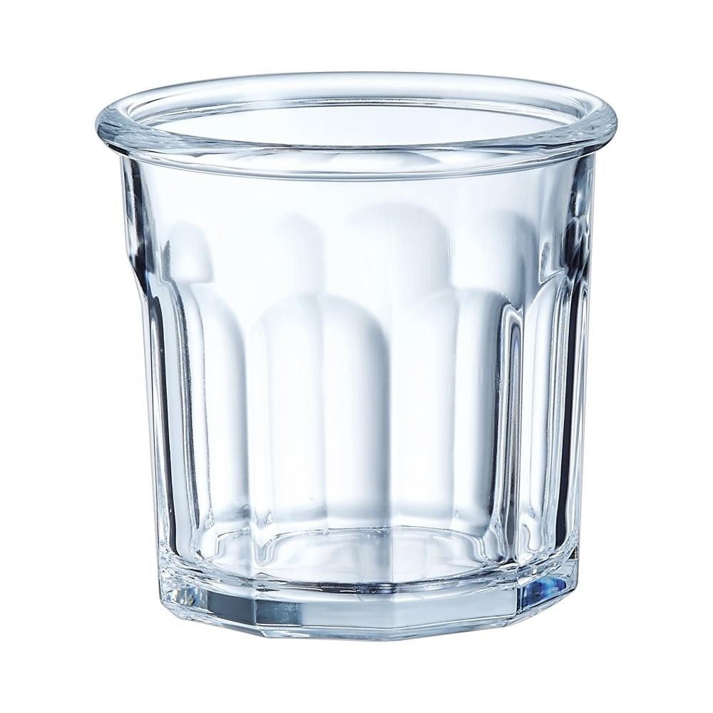 Arcoroc ARC L7172 Eskale Amouse Bouche, Tapas, Fingerfood, Universalbecher, 90 ml, Glas, transparent, 6 Stück